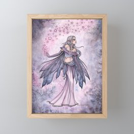 Captured Sky Celestial Fairy Fantasy Art Framed Mini Art Print