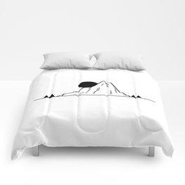 Petite montagne Comforters
