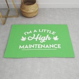 I'm a Little High Maintenance Rug