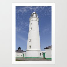 Nash Point Lighthouse Art Print