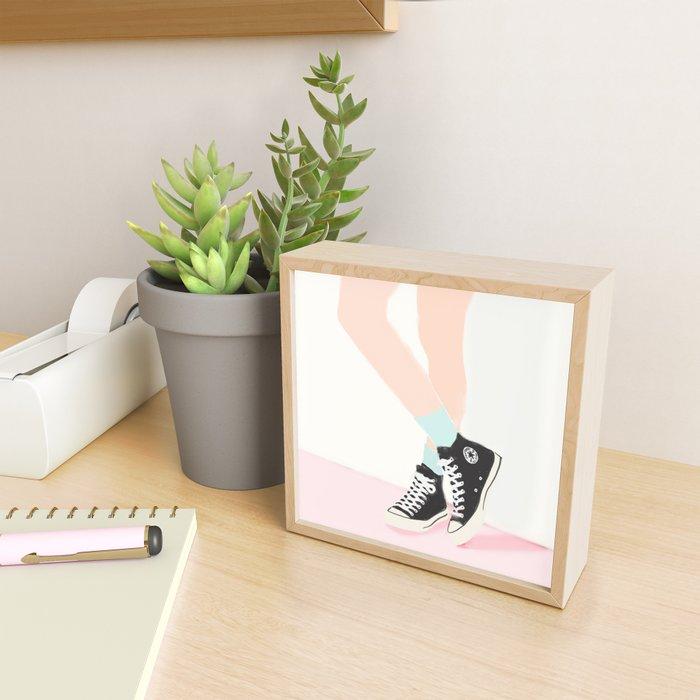 WAITING FOR YOU Framed Mini Art Print