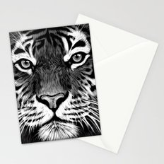Tiger Painting Stationery Cards
