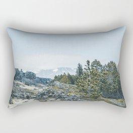 Winter in Iceland 2 Rectangular Pillow