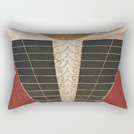 Altarpiece No 2 Hilma Af Klint Rectangular Pillow