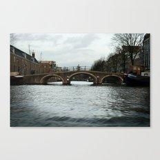 + Rolling the Bridge, Amstedam (NLD) Canvas Print