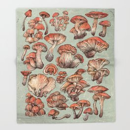 A Series of Mushrooms Decke