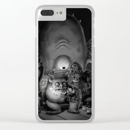 Bedtime story Clear iPhone Case