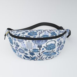 Chinoiserie Tea in the Garden Fanny Pack