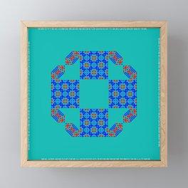 "CA Fantasy ""For Tiffany color"" series #7 Framed Mini Art Print"