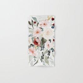 Loose Watercolor Bouquet Hand & Bath Towel