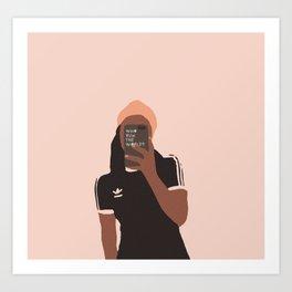 Who Run the World? Art Print