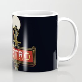Metro - Paris Subway Sign Coffee Mug