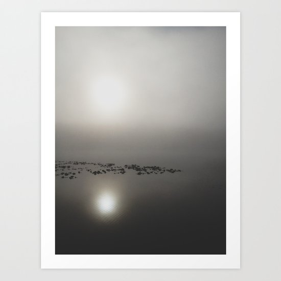 Lake Leo Art Print