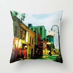 Chinatown Colour Throw Pillow