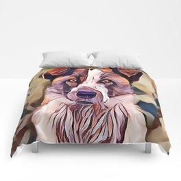 The Norwegian Elkhound Comforters