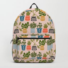 Plants in Pots Print Backpack