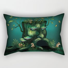 Wizard Stump Rectangular Pillow