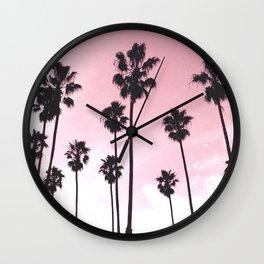 Palms & Sunset Wall Clock