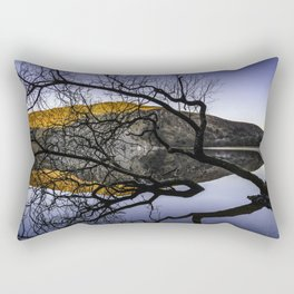 Lough Tay, Wicklow Mountains Rectangular Pillow