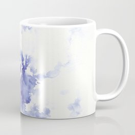 Minimalist blue watercolor Coffee Mug