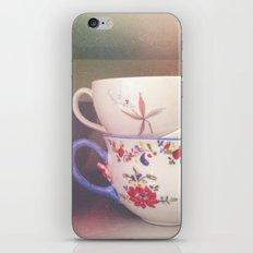 Coffee Cups iPhone & iPod Skin