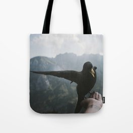 A wild Bird - landscape photography Tote Bag