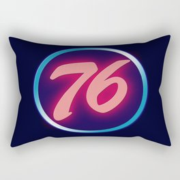 76 Neon Rectangular Pillow