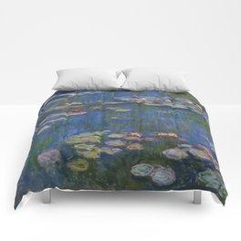 WATER LILIES - CLAUDE MONET Comforters