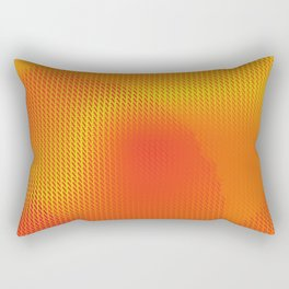 Solar Sensation Abstract Sunset Rectangular Pillow