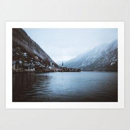 Hallstatt Lakes Art Print