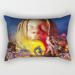 Travis - ASTROWORLD Rectangular Pillow