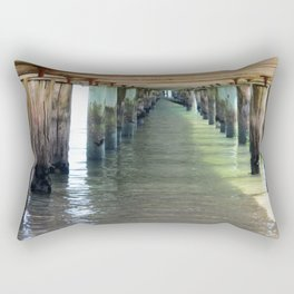 Under the Pier. Rectangular Pillow