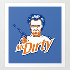 Mr. Dirty Harry Art Print