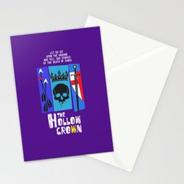 The Hollow Crown Stationery Cards