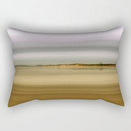 Wet Sand Rectangular Pillow
