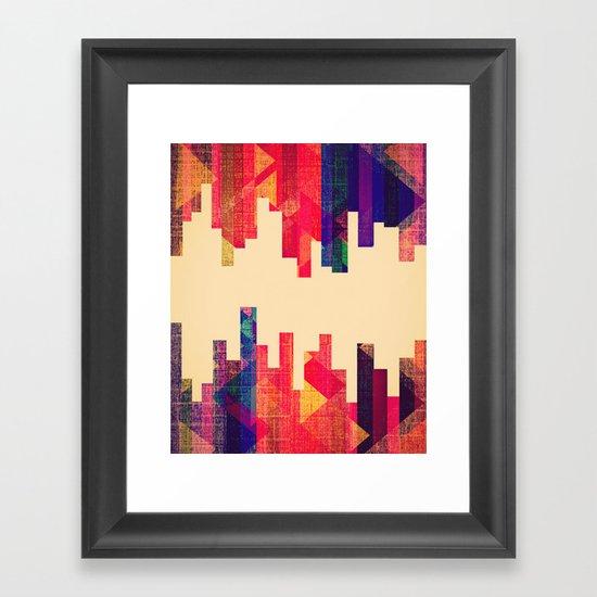Night Visions: Textiles Framed Art Print