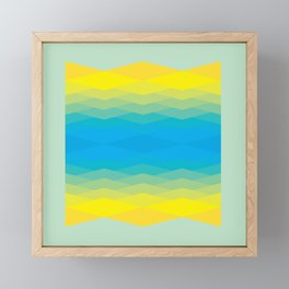 In-Eye Mixing (C to Y) Framed Mini Art Print