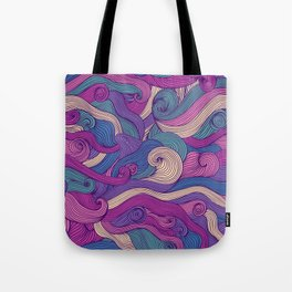 Purple metamorphoses Tote Bag
