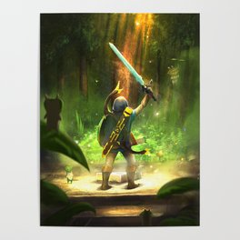 The Master Sword Poster