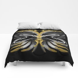 Abstract -Tiger Butterfly Comforters