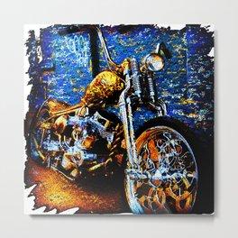 motorcycle Metal Print