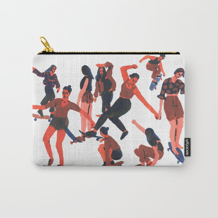 Skaters Carry-All Pouch