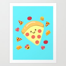 Pizza Feels Art Print
