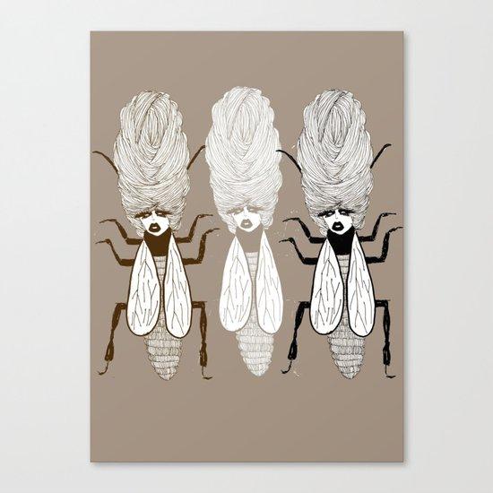Queen Beehive Canvas Print