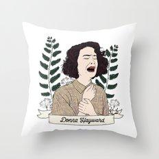 Twin Peaks (David Lynch) Donna Hayward Throw Pillow