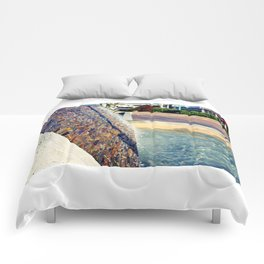 Waterfall Wall Version 2 Comforters
