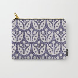 Mid Century Flower Pattern 8 Carry-All Pouch
