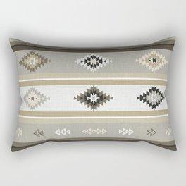 Neutral Kilim Rectangular Pillow