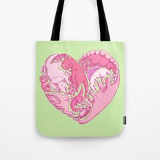 Loveasaurus Tote Bag