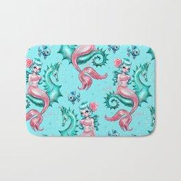 Mysterious Mermaid Bath Mat